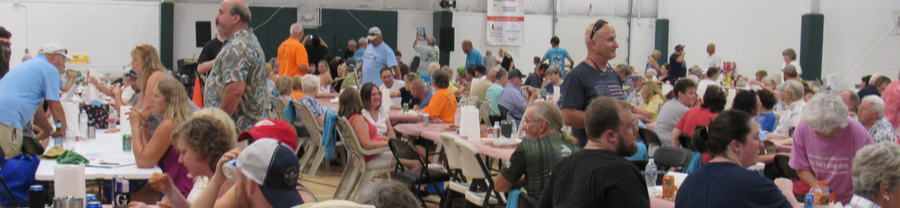 Scene from 2019 Crab Feast